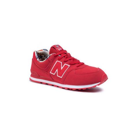New Balance Sneakersy GC574GYI Červená