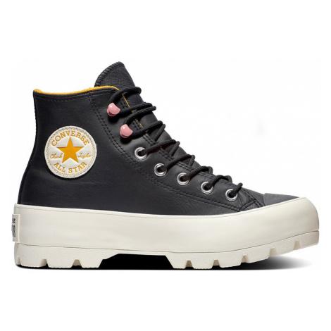 Converse gore-tex kožené tenisky na platforme Chuck Taylor All Star Lugged Winter