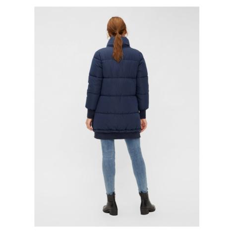 MAMALICIOUS Zimná bunda  modrá Mama Licious