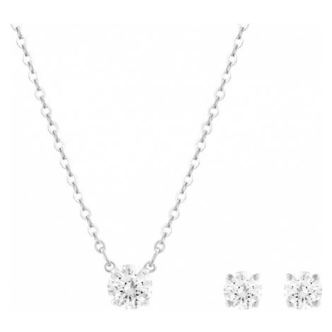 Swarovski Sada šperkov 'Attract'  strieborná / biela