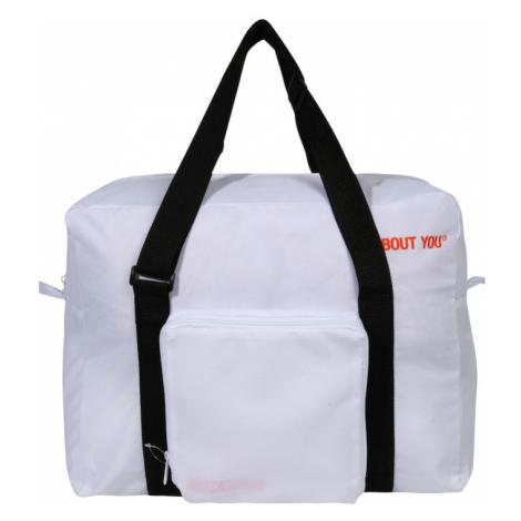 ABOUT YOU Víkendová taška 'Icons'  biela