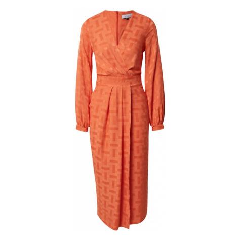 Closet London Šaty  oranžová