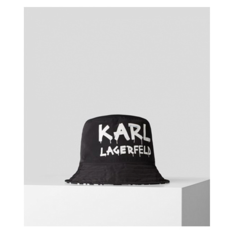 Klobúk Karl Lagerfeld Graffiti Aop Bucket Hat