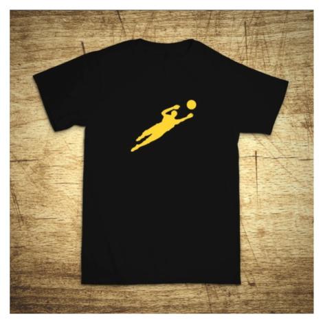 Detské tričko s motívom Brankár