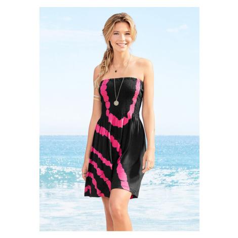 Plážové šaty bandeau bonprix