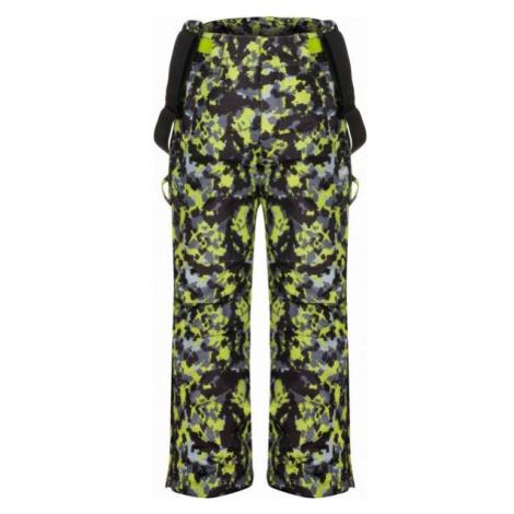 Loap CUBBY čierna - Detské lyžiarske nohavice