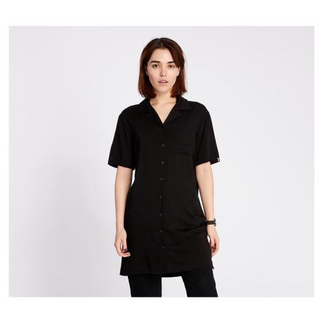 Lazy OAF Bowling Shirt Dress Black