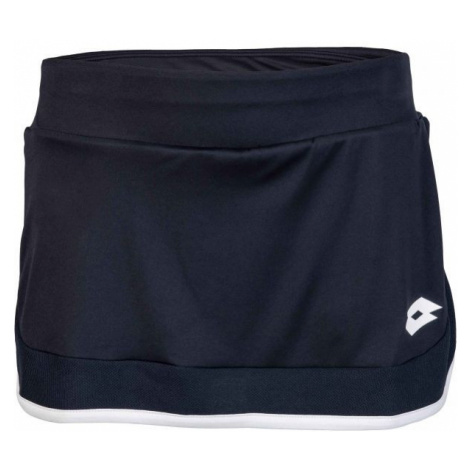 Lotto SQUADRA G SKIRT PL čierna - Dievčenská športová sukňa