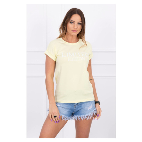 Blouse Limited edition light yellow