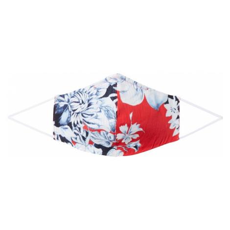 Rich & Royal Látkové rúško 'Reversible'  červená / tmavomodrá / svetlomodrá