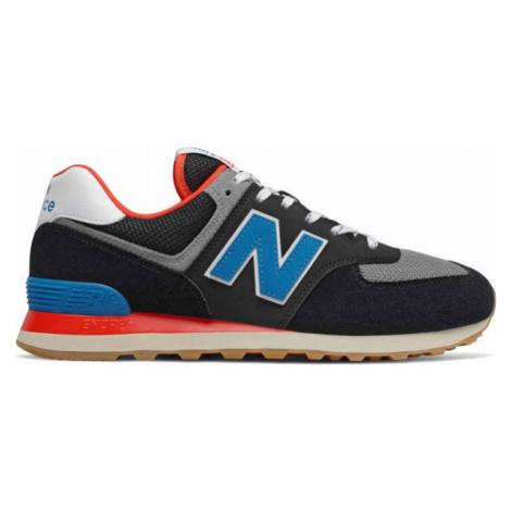 New Balance ML574SOV tmavo modrá - Pánska voľnočasová obuv