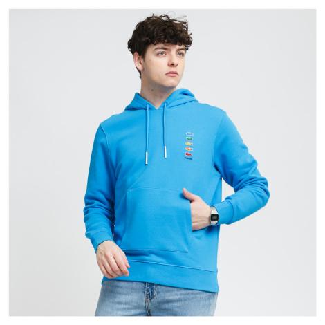 LACOSTE Lacoste x Polaroid Cotton Fleece Sweatshirt modrá