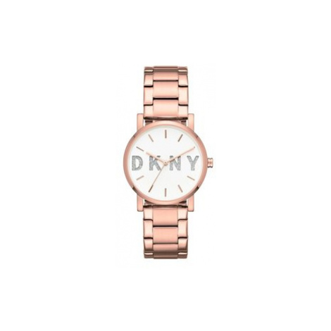 DKNY Hodinky Soho NY2654 Ružová