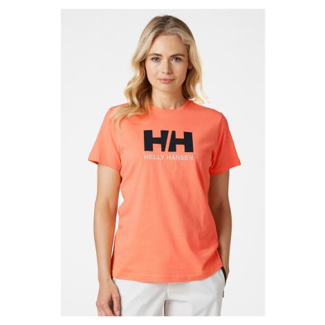 Dámske oranžové tričko Helly Hansen