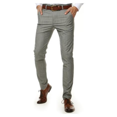 Light gray men's trousers UX2571 DStreet