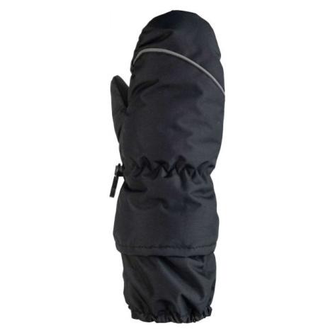 Lewro PUTU čierna - Detské lyžiarské rukavice