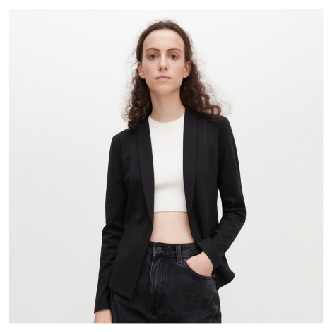 Reserved - Úpletová bunda - Čierna