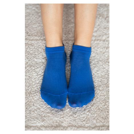 Barefoot ponožky krátke - modré 35-38