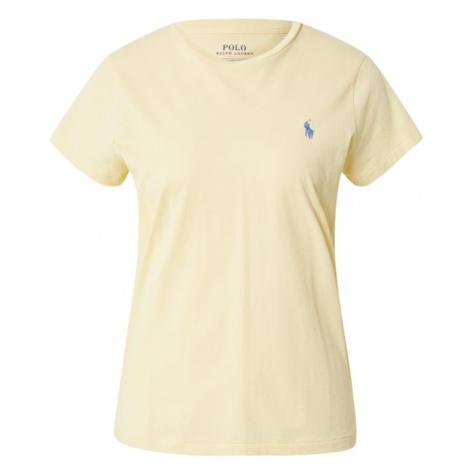 POLO RALPH LAUREN Tričko  pastelovo žltá