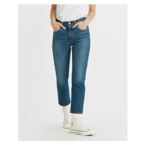 Levi's® 501® Crop Jeans Modrá Levi´s