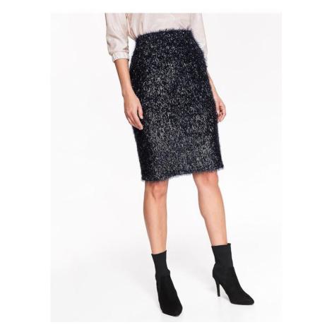 Midi sukne s chĺpkami Top Secret