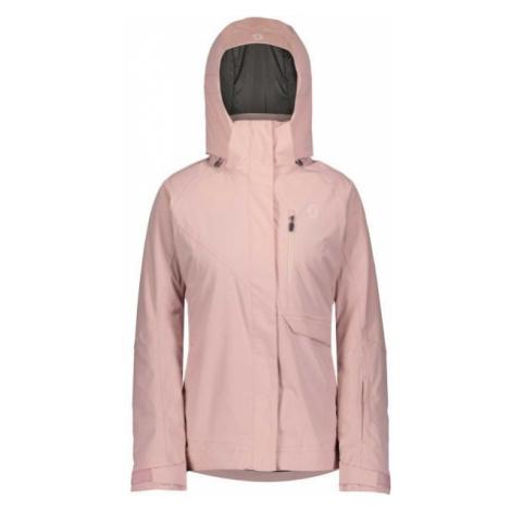 Scott ULTIMATE DRYO 10 W JACKET ružová - Dámska lyžiarska bunda