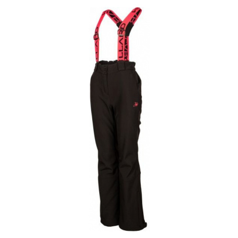 Willard ELOMA čierna - Dámske softshellové nohavice