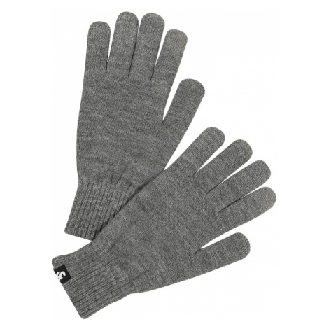 JACK & JONES Prstové rukavice  sivá
