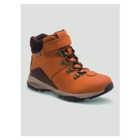 Topánky Merrell Alpine Casual Boot Wtr Hnedá