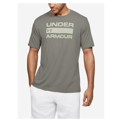 Tričko Under Armour Team Issue Wordmark Ss Zelená