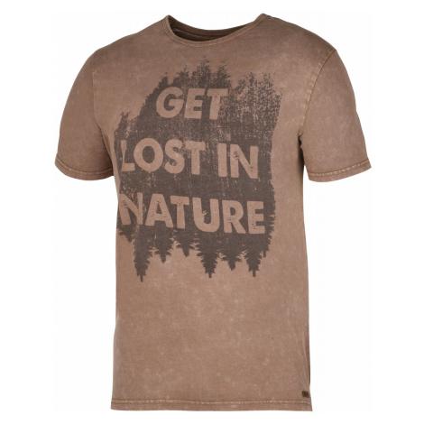 Husky Bronson hnedá, Pánske tričko