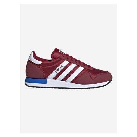USA 84 Tenisky adidas Originals Červená