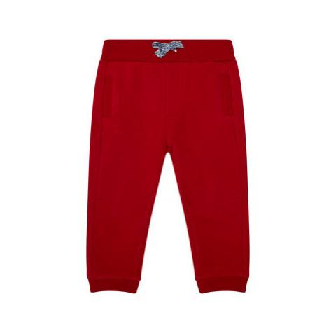Mayoral Teplákové nohavice 719 Červená Regular Fit