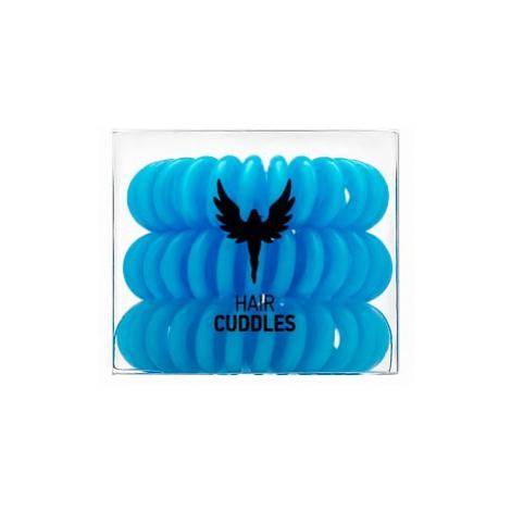 HH Simonsen Hair Cuddles 3 pcs gumička do vlasov Light Blue