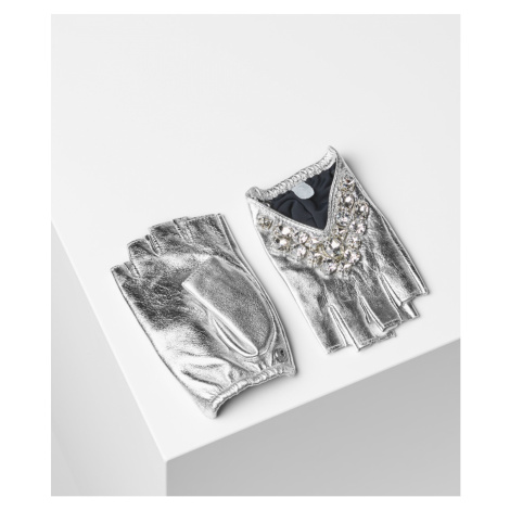 Rukavice Karl Lagerfeld K/Geostone Triangle Glove