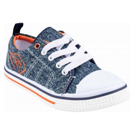 ALPINE PRO DUBHE tmavo modrá - Detská vychádzková obuv