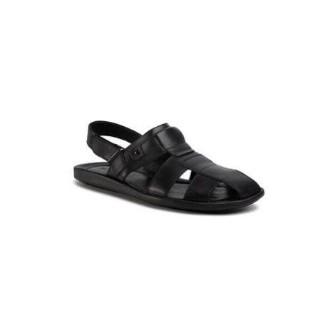 Gino Rossi Sandále MN2896-TWO-BG00-9900-0 Čierna