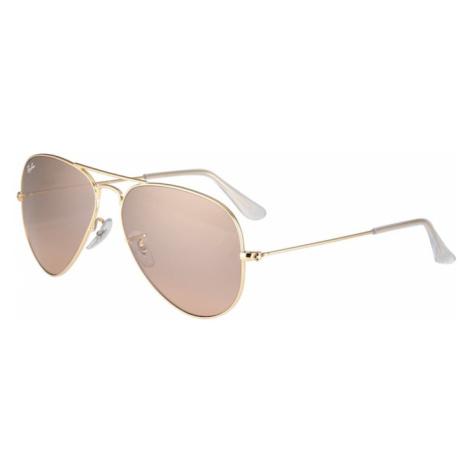Ray-Ban Slnečné okuliare 'Aviator'  zlatá / ružová