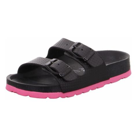 SUPERFIT Sandále  čierna