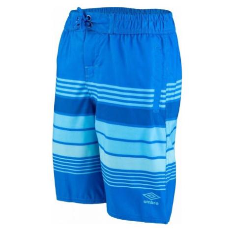 Umbro ERNESTO modrá - Chlapčenské plavecké šortky