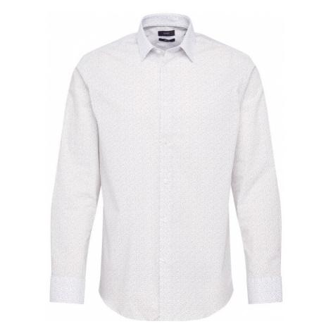 Esprit Collection Košeľa  biela / sivá