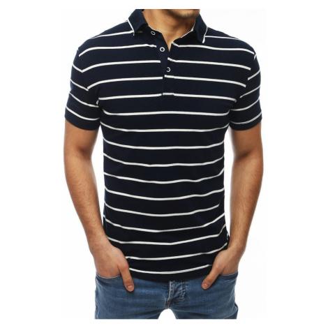 Men's navy blue polo shirt PX0251 DStreet