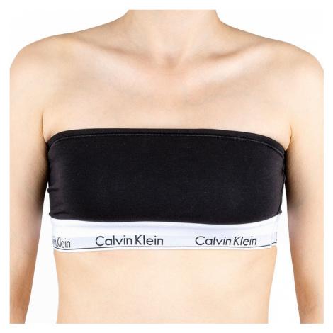 Dámska podprsenka Calvin Klein bandeau čierna (QF5295E-001)