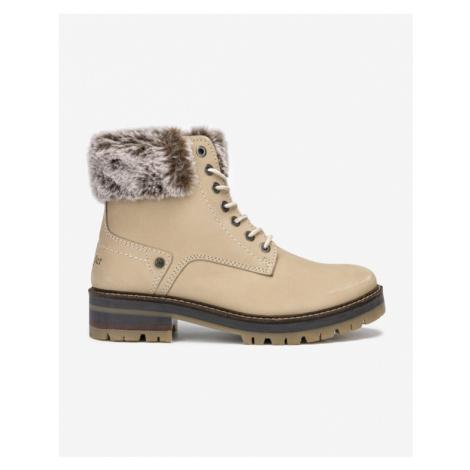 Wrangler Denver Alaska Členkové topánky Béžová