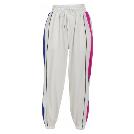 myMo ATHLSR Športové nohavice  biela / ružová / modrá / čierna