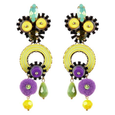 Tatami Woman's Clip Earrings E-Wo008Y