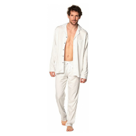 Klasické pánske pyžamo Alan pruhy Rossli