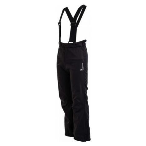 Klimatex RUN KALHOTY AGNETE čierna - Detské softshellové nohavice