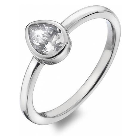 Hot Diamonds Trblietavý prsteň Emozioni Acqua Amore ER025 mm