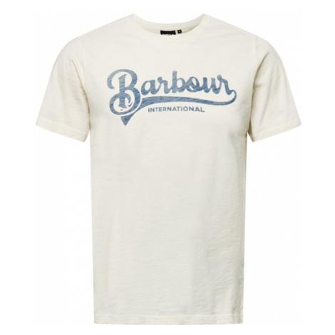 Barbour International Tričko 'Understeer'  svetlomodrá / biela